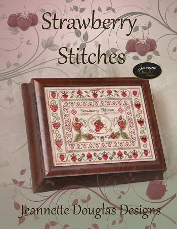 Jeannette Douglas Designs Strawberry Stitches