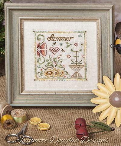 Jeannette Douglas Designs Summer Flower