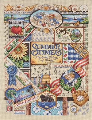 Janlynn 023-0347 Summer sampler