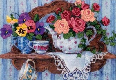 Dimensions 6223 Teapot floral