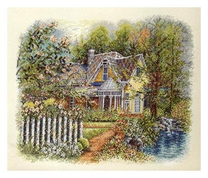 Bucilla 43741 Victorian Hause