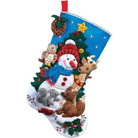 Bucilla 86505 Woodland snowman